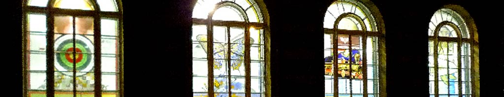 Stained and Painted Glass Windows