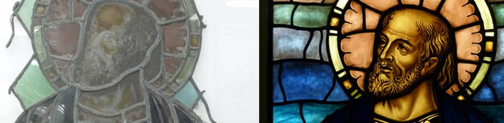 church windows repaired and restored