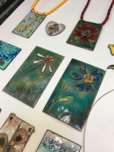 Enamelling on Copper Jewellery Class - 19 January 2019 @ Rainbow Glass Studios | England | United Kingdom