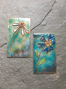 Enamelling on Copper Jewellery Class - 28th Feb 2021 @ Rainbow Glass Studios | England | United Kingdom