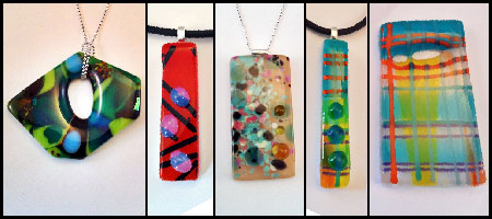 Fused Glass Jewellery Class