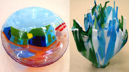 glass fusing class for beginners