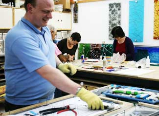 glass making classes